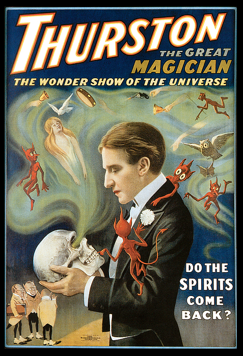 Thurston Painting - Thurston The Great Magician by Unknown