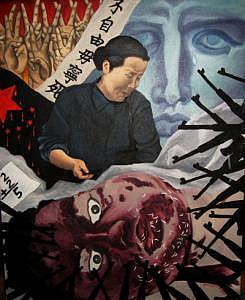 Tiananmen Square Massacre Painting - Tiananmen 89   by Lana Cheng