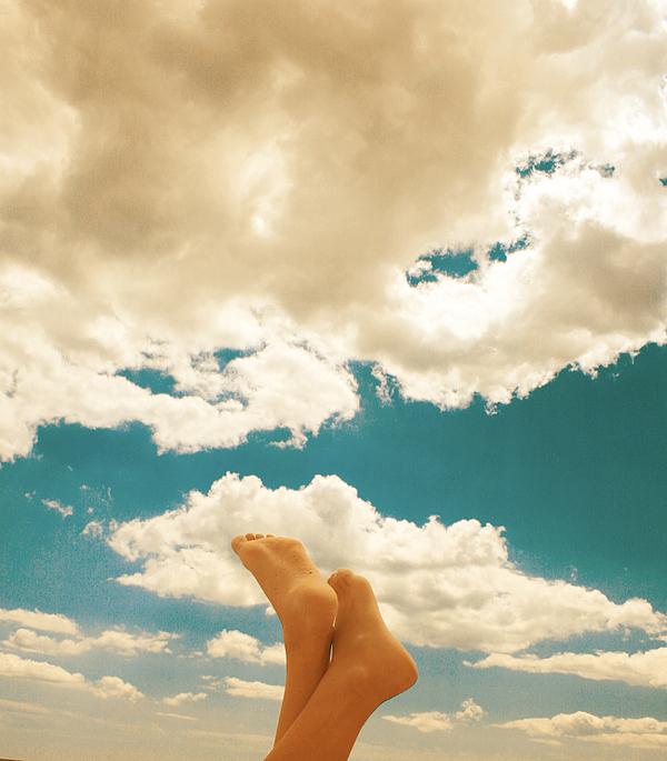 Sky Digital Art - Ticklish by Mircea Ciurel