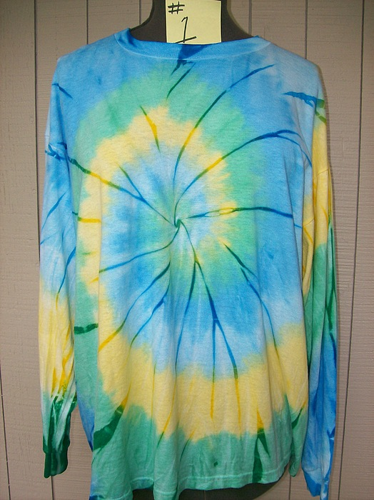 Soft Tapestry - Textile - Tie Dyed Shirts by Kimberly Poland