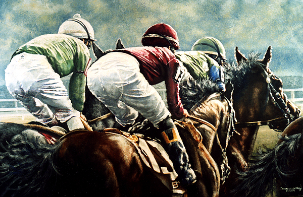 Arlington Painting - Tight Quarters by Thomas Allen Pauly