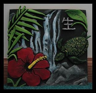 Tile Ceramic Art - Tile by Ashley Cameron