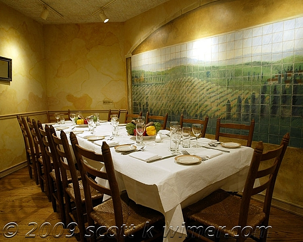 Tile Mural At Vinci Restaurant -chicago Painting by Scott K Wimer