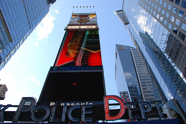 Times Square Photograph - Times Square Cops by Rob Hans