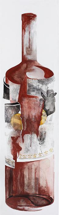 Tango Painting - Tinta Roja   Detalle by Jorge Martorell