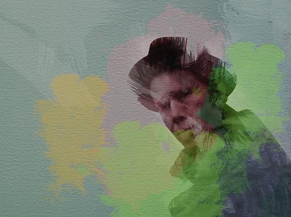 Tom Waits Painting - Tom Waits by Naxart Studio