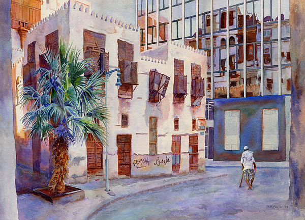 Architecture Painting - Tomorrows World by Dorothy Boyer