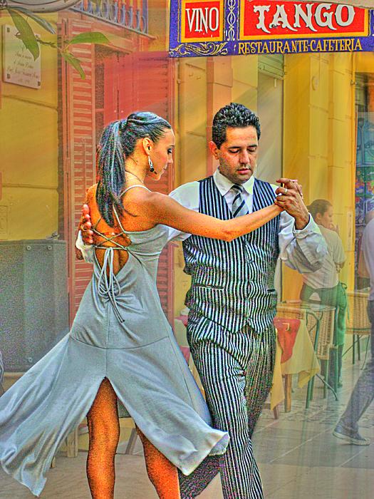 Tango Photograph - Too Tango by Francisco Colon