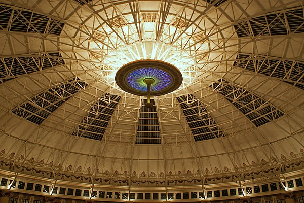 Domes Photograph - Top Of The Dome by Sandy Keeton