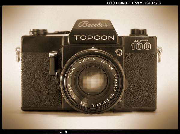 35mm Photograph - Topcon Auto 100 by Mike McGlothlen