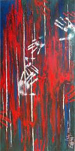 Expressionism Painting - Touch by Lyuba Zahova