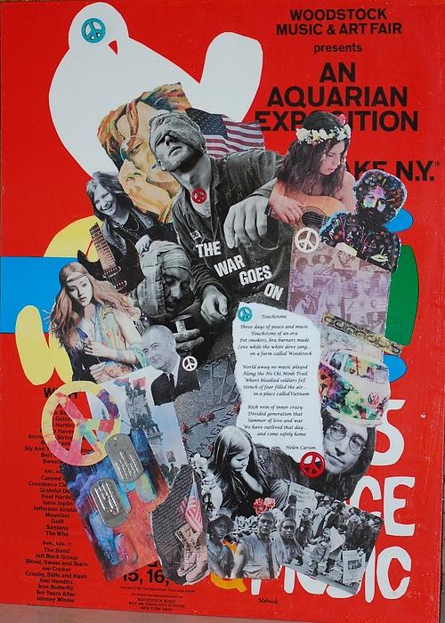 Woodstock Mixed Media - Touchstone by Helen Carson