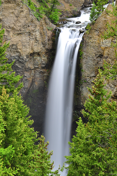 Tower Fall Photograph - Tower Fall by Greg Norrell