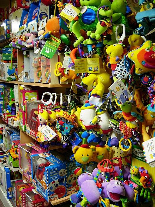 Toys Photograph - Toy Story by Robert Boyette