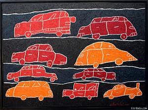 Traffic Painting - Traffic by Ilir   Bala