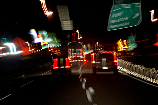 Cars Photograph - Traffic by Robert Meanor