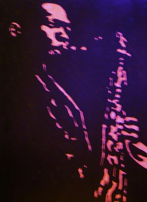Coltrane Painting - Trane by Gayland Morris