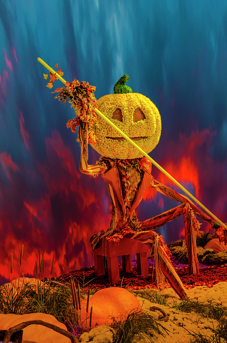 Halloween Digital Art - Travelers Beware by Mark Dunton