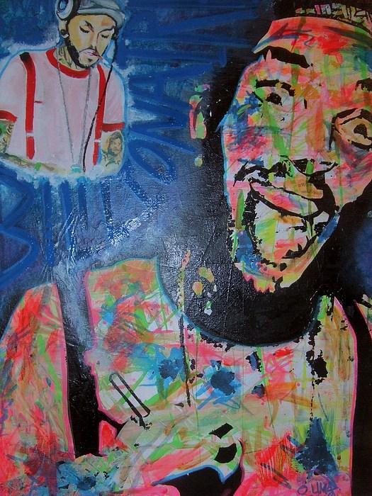 Travie Mccoy Painting - Travie Mccoy by Ottoniel Lima