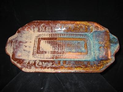 Cookies Ceramic Art - Tray by Michael Anthony-Nagy