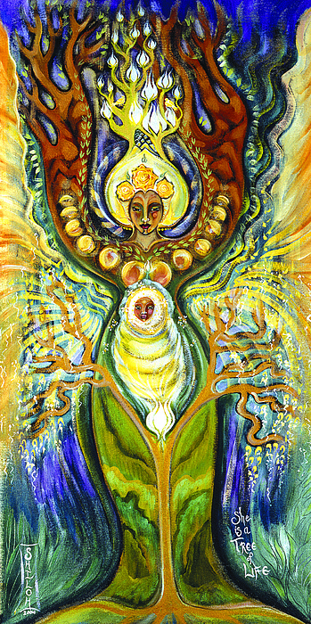 Tree Of Life Painting - Tree Of Life by Shiloh Sophia McCloud
