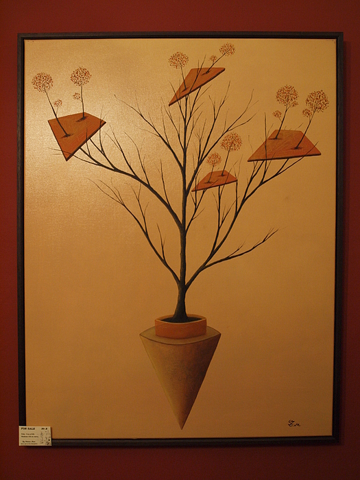 Paintings Painting - Tree Of Life by Thomas Maes
