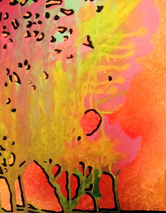 Trees Painting - Trees by Amanda Schambon
