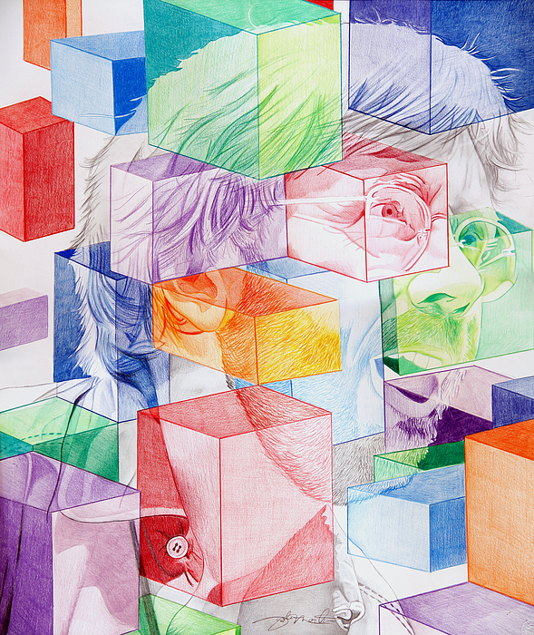 Trey Anastasio Drawing - Trey Anastasio-never Get Out Of This Maze by Joshua Morton