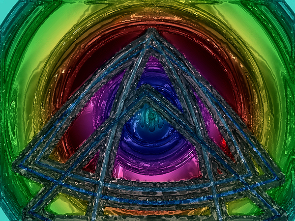 Triangle Digital Art - Triangle by Patrick Guidato