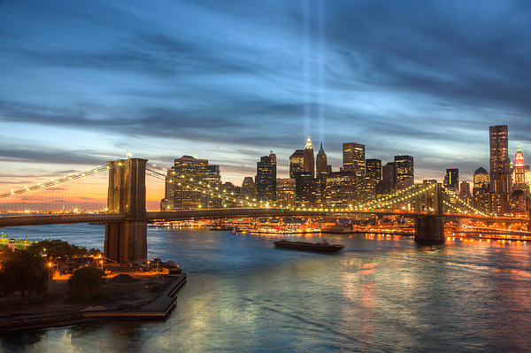 9/11 Photograph - Tribute In Light I by Clarence Holmes