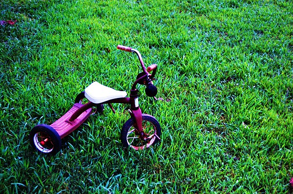 Tricycle Photograph - Tricycle by Beverly Hammond