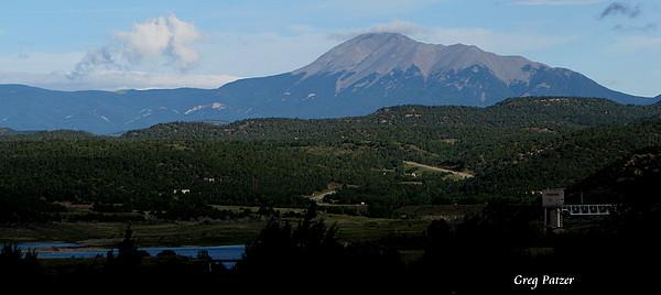 Trinidad Colorado Photograph - Trinidad Overlook by Greg Patzer