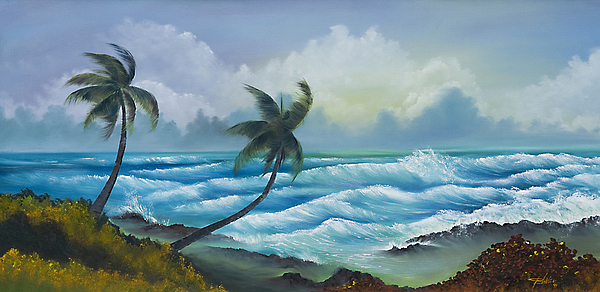 Tropical Painting - Tropical Wind by George Bloise