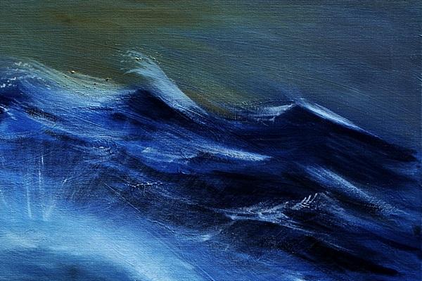 Sea Painting - Troubled Waters - Detail by Kostas Koutsoukanidis