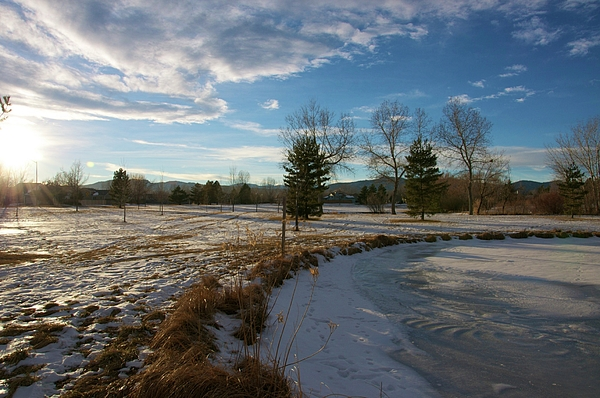 Winter Photograph - Troutman Park by Christopher Wood