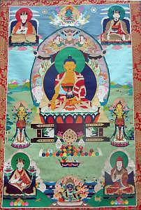 Buddhism Painting - Tsurphu Thangka by Terris Temple