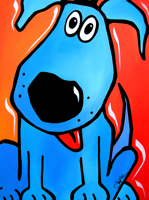 Fidostudio Painting - Tuffy by Tom Fedro - Fidostudio