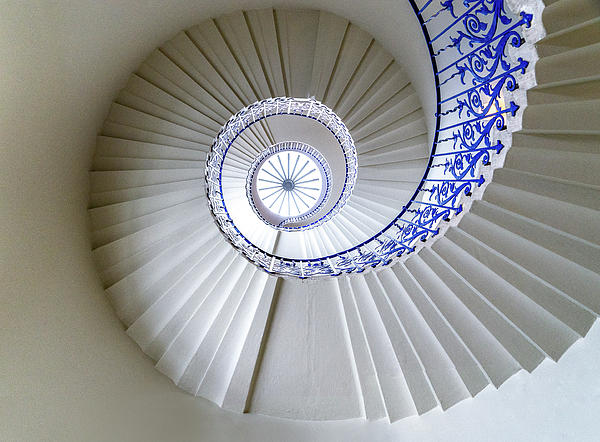 Architecture Photograph - Tulip Staircase by Jae Mishra