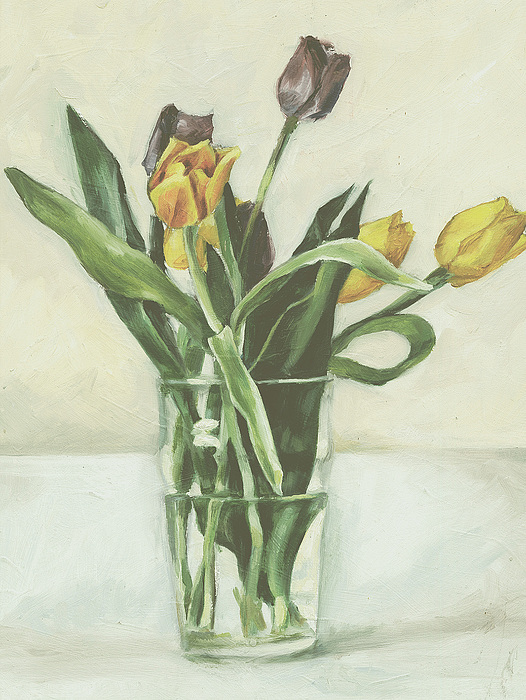 Tulips Painting - Tulips by Sarah Madsen