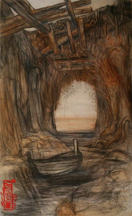 Tunnel Painting by Ralph Nixon Jr