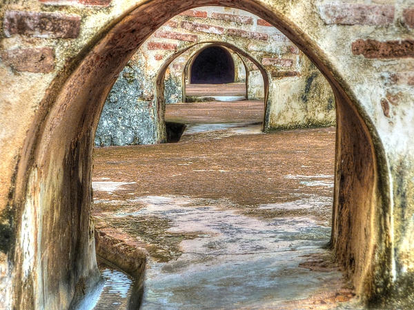 Tunnel Photograph - Tunnel Vision by Michael Garyet
