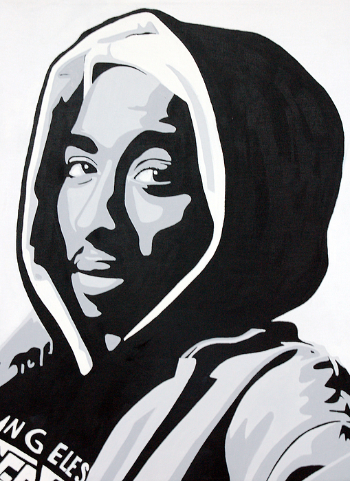2pac painting tupac by michael ringwalt