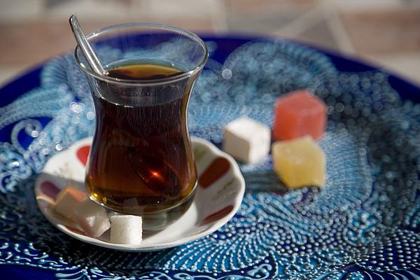 Turkey Photograph - Turkish Tea by Steve Outram