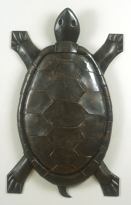 Turtle Sculpture by Jonathan Borofksy