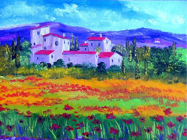 Tuscany Painting - Tuscany by Inna Montano