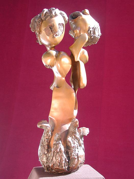 Love Sculpture - Tutti Frutti by Chaz  Della Porta