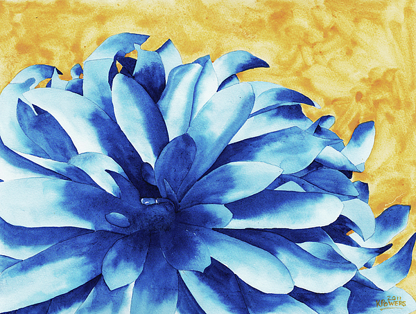 Watercolor Painting - Two Tone by Ken Powers