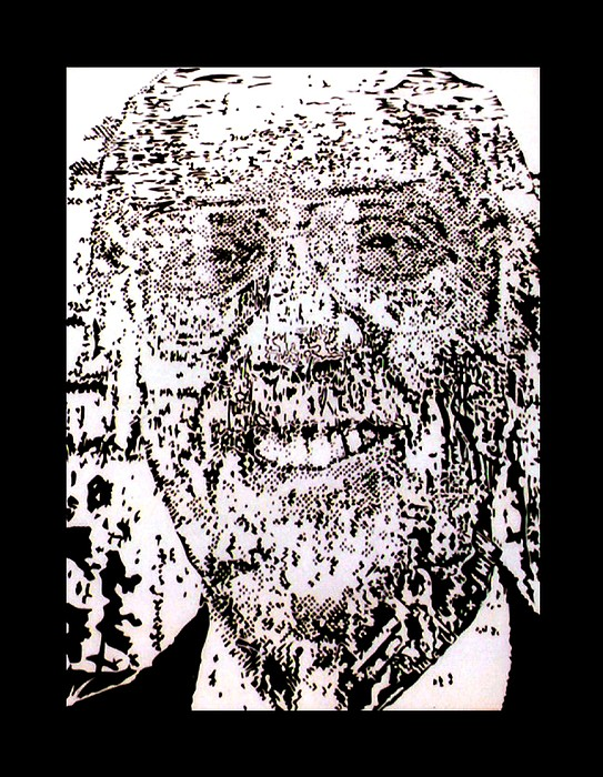 Walter Cronkite Mixed Media - Uncle Walter by Gabe Art Inc