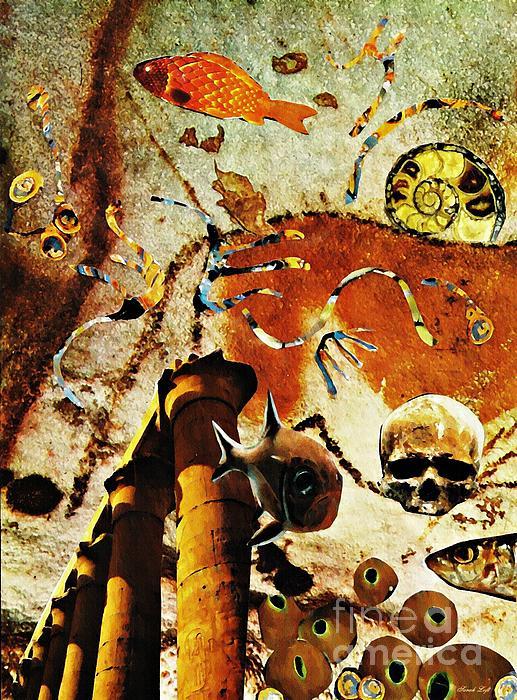 Death Mixed Media - Underworld by Sarah Loft