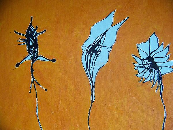 Plants Painting - Unfamiliar Growth by Luke Kislak